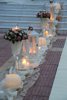 Renewal Wedding, Wedding Ceremony, Our Wedding, Dream Wedding, Wedding Stage Design, Church Wedding Decorations, Greece Wedding, Brunch Wedding, Indoor Wedding