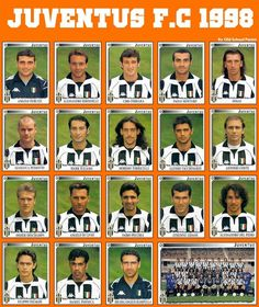 The Serie A title was Juventus won its national. Juventus F. had one of its most successful seasons in the clubs' history. Football Squads, God Of Football, Football Awards, Best Football Team, Retro Football, Football Memes, Classic Football Shirts, Football Kits, Vintage Football