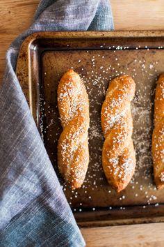 Guinness cheese dip and soft pretzel | st patricks day recipe -- lauren kelp