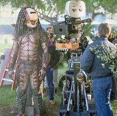 Kevin Peter Hall as the Predator in #Predator 2 (1990).