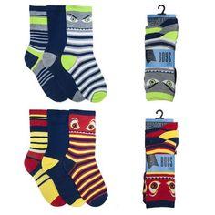 Boys' 3-Pack Cotton Rich Striped Socks  #shopping #fashion #shoppingday #instalikes #canadaonline #fashionista #fashionstyle #kidsclothes #onlinestore #Oasislync