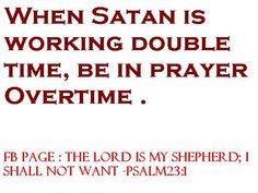 When Satan