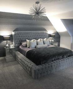 38 Cool Master Bedroom Design And Decor Ideas For You Room Decor Bedroom Bedroom Cool Decor Design Ideas Master Simple Bedroom Design, Modern Bedroom Decor, Room Ideas Bedroom, Master Bedroom Design, Home Bedroom, Bedroom Rustic, Bedroom Furniture, Bedroom Brown, Stylish Bedroom