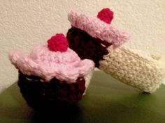 Cupcake Slippers for Baby/Toddler. $15.00, via Etsy.