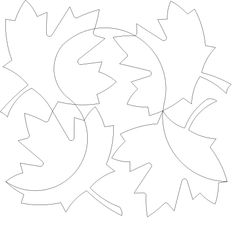 Maple Leaves - 1345 - $.015