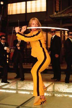"""kill Bill: Vol. 1 (us Aka ;quentin Tarantino's Kill Bill: Volume One ; Uma Thurman Picture From The Ronald Grant Archive Kill Bill: Vol. 1 (us Aka """"quentin Tarantino's Kill Bill: Volume One"""" Aka """"kill Bill: [. Female Movie Characters, Movie Character Costumes, Iconic Characters, Movie Costumes, Character Poses, Quentin Tarantino, Tarantino Films, Famous Movies, Iconic Movies"