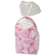 """Ferske Marshmallowshjerter - 175g   Pose med 175 gram marshmallowshjerter  i rosa og hvit. Supersøte, superfine og supergode hjertemarshmallows! Passer utmerket til å ha i godteriskål på bursdagsbordet eller som en liten gave til morsdag, farsdag eller som en """"God bedring gave"""".  Best før: 07/2019  #Sjokolade og godteri Blog, Pink, Blogging"""