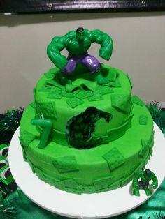Bolo do Incrível Hulk