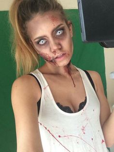 Girl Zombie Halloween Makeup Ideas