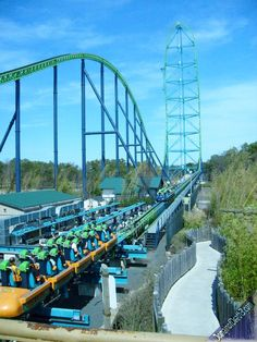 Kingda Ka - Six Flags, New Jersey. The world's tallest rollercoaster