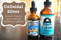 Colloidal Silver - A Must-Have in Your Natural Medicine Cabinet to Fight Bacteria and Viruses without Medication