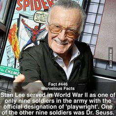 Stan Lee is bad ass - Visit to grab an amazing super hero shirt now on sale! Marvel Funny, Marvel Memes, Marvel Dc Comics, Marvel Avengers, Spiderman, Batman, Superhero Facts, Marvel Facts, Dc Memes