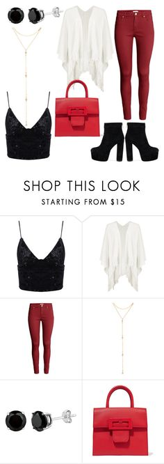"""""""SSD:AOTTG"""" by shiningpearl08 ❤ liked on Polyvore featuring Boohoo, H&M, Fragments and Maison Margiela"""