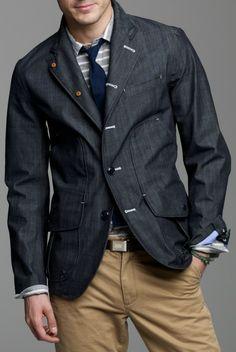 That is one fashion forward jacket.
