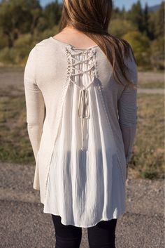 Pair your favorite leggings with this lovely tunic! 🍂 #xoxoAL4You #falllayers #shoplocal #montanafashion #ALmissoula Laced With Love Top $36 Call (406)721-2280 or use the link below to order! http://form.jotform.us/form/52044697810154
