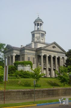 Vicksburg, MS - the old Warren Co. Courthouse. Awesome museum now, my favorite part of my trip!