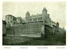 1910 körül. Wágner villa a Mecset utca végéből fotózva.