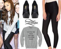 "Ariana Grande ""The Honeymoon Tour"" Meet & Greet in Dallas, April 1st, 2015 – photo: agrande-news"
