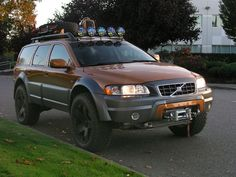 modified volvo xc70 lift - Google Search