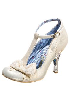 Irregular Choice FLOXY Bridal shoes off white