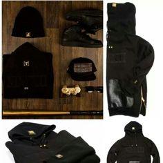 SHOP #HighSwagMunich hoodies with gold side zips  Www.houseoftreli.com