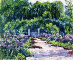 The Garden Artwork by Blanche Hoschedé-Monet
