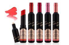 Les rouges à lèvres en forme de bouteille de vin, un WTF beauté très français