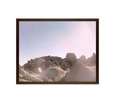 "Joshua Tree Rocks #2 Framed Print by Jane Wilder, 20 x 16"", Wood Gallery Frame, Espresso, No Mat"