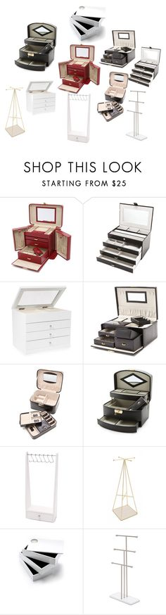 """best jewellery boxes"" by denisee-denisee ❤ liked on Polyvore featuring vintage"