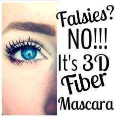 Everybody is talking about Younique's 3D Fiber Lashes Mascara because it works so well.