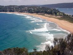 Palm Beach, NSW, Australia  One of Sydney's beautiful Northern beaches.  (it's where the tv series Home and Away is filmed, for those of you playing at home)