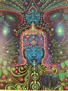 Pablo Amaringo #visionaryart #art #beautiful #visual #trippy #psychedelic #sacred