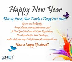 wishing you and your family a happy new year 2014 happy new year thoughts happy