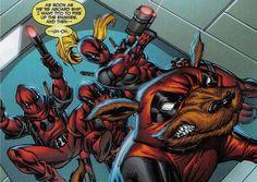 Deadpool dog