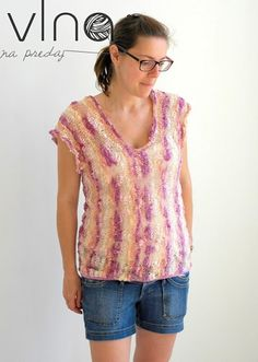 Letné tričko – PLETENÍ – NÁVODY Baby Alpaca, Blouse, Women, Fashion, Blouse Band, Moda, Women's, La Mode, Fasion