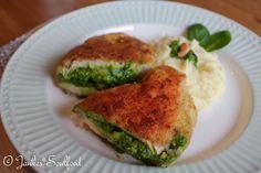 Cordon Bleu mit Spinat-Pesto von Jankes Soulfood
