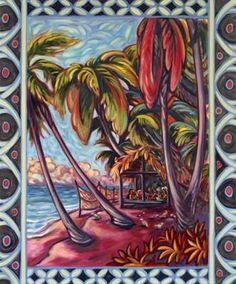 """""""Sunset Serenade"""" by Kim McDonald at Maui Hands"""
