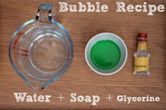 Giant Bubbles Recipe – how to make your own bubble mixture tutorial, as well as how to make giant bubble wands. The kids always have such a blast with our DIY bubbles in the summer. Giant Bubble Recipe, Homemade Bubble Recipe, Giant Bubble Wands, Bubble Diy, Homemade Bubbles, Giant Bubbles, Homemade Bubble Wands, Bubble Activities, Toddler Activities