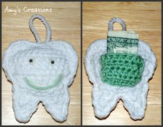 Everything about Tooth Fairy is magical. Kids, all over the world, losing their baby teeth know about her. She's an important Fairy in everybody's childhood. If you have kids around she's still present in your life. LOL This Tooth Fairy Pillow by Crochet Jewel is cute, fun and easy to make. Thanks to Crochet Jewelfor …