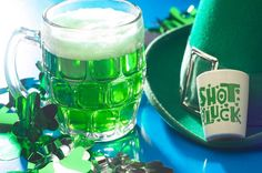 It's your lucky day when you call us for all of your St. Patrick's Day party needs this month.