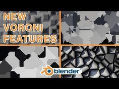 Blenders New Voronoi Node Features (Blender Create Animation, Animation Film, 3d Computer Graphics, Blender Tutorial, 3d Tutorial, Game Engine, Blender 3d, Motion Design, 3d Modeling