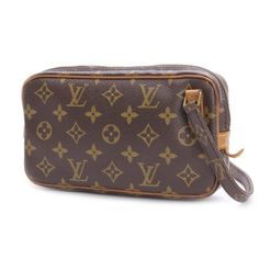 Louis Vuitton marly Bandouliere Monogram Cross body bags Brown Canvas M51828