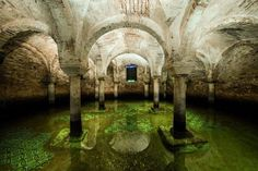 #Ravenna underground - (S. Francesco Basilica original floor)