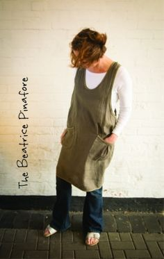 Sew Me Something Patterns ~ The Beatrice Pinafore