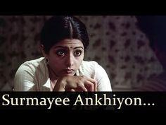 Sadma - Surmayee Ankhiyon Mein Nanha Munna Ek Sapna De Ja Re Indian Movie Songs, Hindi Movie Song, Old Song, Old Music, Bollywood Songs, Strong Quotes, Movie Quotes, Feelings, Youtube