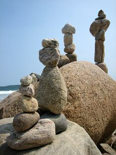 stone totems