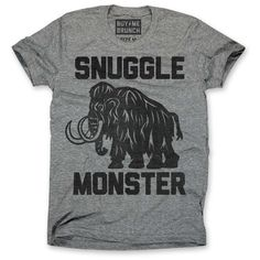 Snuggle Monster Tee :D so funny!!