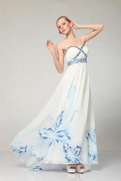 67 best floral prom dresses images on pinterest cute dresses beautiful bahama blue strapless floral print prom dress 4 to 22 unique vintage mightylinksfo