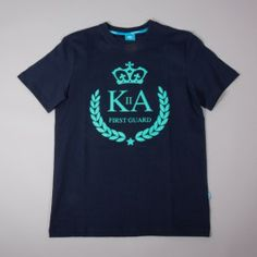 KING APPAREL FIRST GUARD BLUE King, Tees, Long Sleeve, Sleeves, Prints, Mens Tops, T Shirt, Blue, Fashion