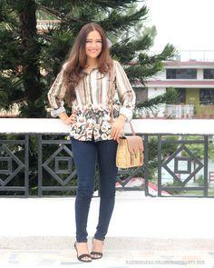 Styling a multicoloured shirt | OOTD #fashion #fashionblogger